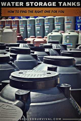 Emergency Water Storage Tanks