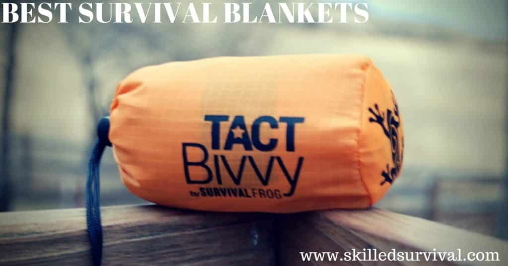 Blanket Mylatech Survival Color Coated Thermal Bivvy High Thermal Coated Mylar Sleeping Bag and Our Emergency Space Blanket Bag
