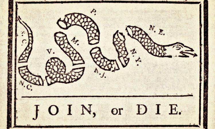 Benjamin Franklin - join or die