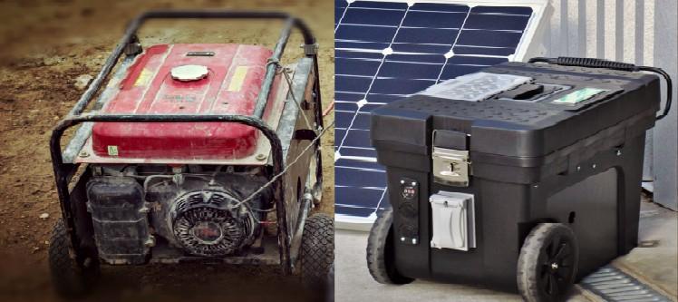 Fuel Generator Vs Solar Generator