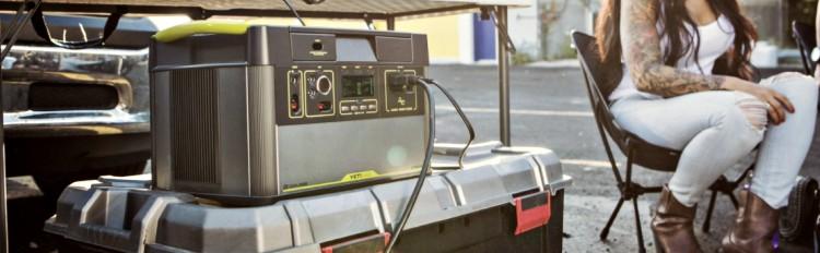Solar Generator For Tailgating
