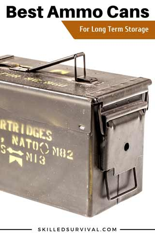 Case of 12 Brand New USGI M2A1 Ammo Cans 50 Cal Ammo Can Made in the USA