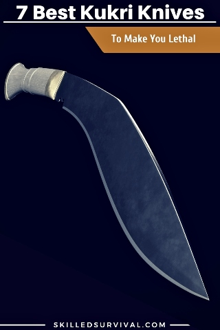 Tactical Kukri Knife