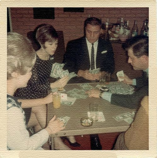 Card Games In USA 1949