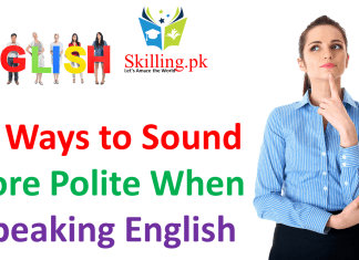 Ten Ways to Sound More Polite When Speaking English