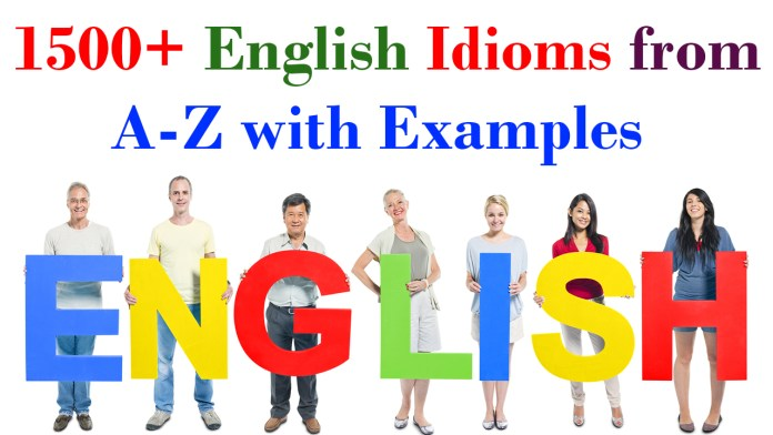 1500+ English Idioms from A-Z with Examples - Skilling