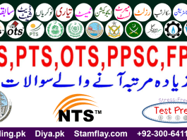 WAPDA Jobs 2019 NTS Written Test Preparation Online Mcqs