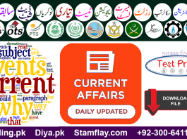 Current Affairs 2019 MCQS with Answers