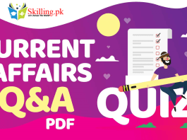 Current Affairs Questions And Answers PDF