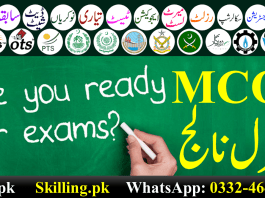 Download Important Solved General Knowledge MCQS PPSC FPSC OTS PTS NTS