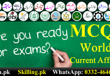 Download Important Solved World Current Affairs MCQS PPSC FPSC OTS PTS NTS