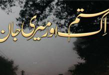 Ik Sitam r Meri Jann by Seema Shahid