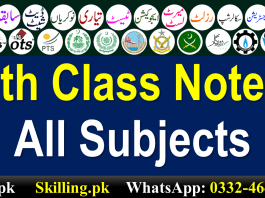 9th Class Chemistry Notes Urdu Medium PDF
