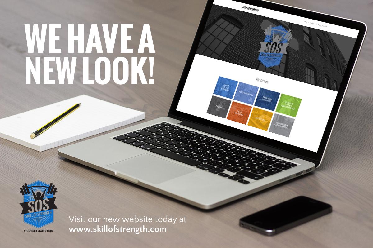Skill of Strength's New Website