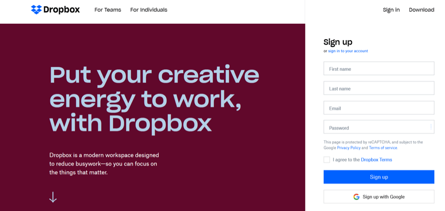 Dropbox Apps for Sales