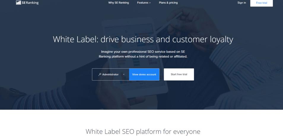 SE Ranking White Label Marketing