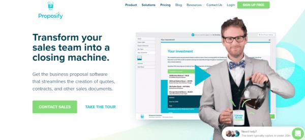 Sales App Proposify