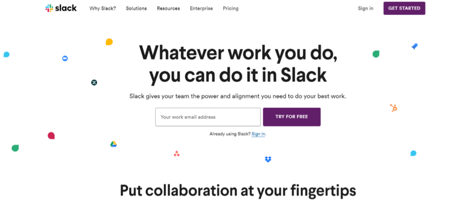 Slack Apps for Sales