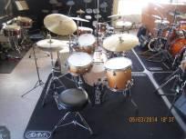 Drumles Jazz drumkit student Back