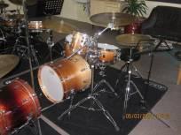 Drumles Jazz drumkit student front
