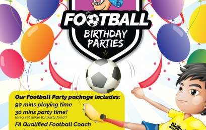 Football Birthday Packages!