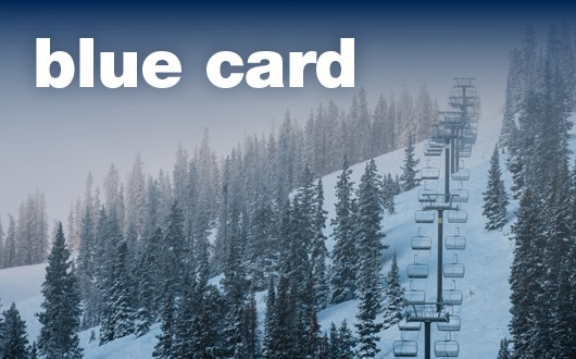 blue cardOne Price • Fully Transferable • Can be used by Friends & FamilyOne Ticket Use Per Day