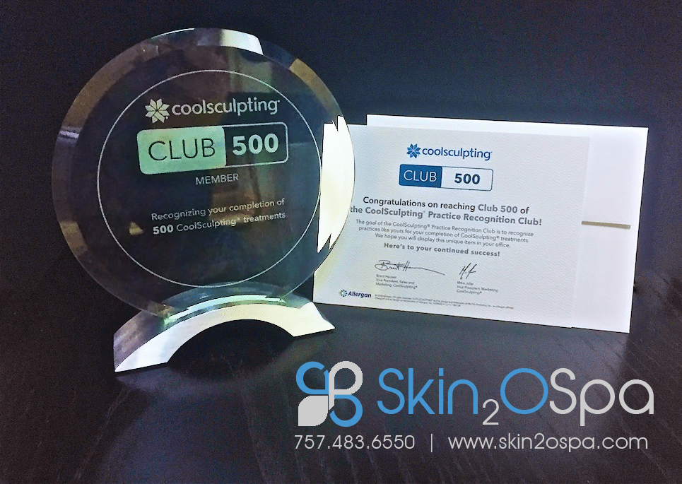 Skin2O MedSpa CoolSculpting 500 Club