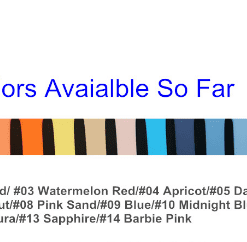1 14 colors Silicon Watch Band for Apple Watch 1, 2, 3, 4, & 5