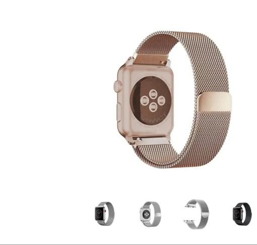 35EAB615 EE0D 41CB 9FAA EF843EC18C2B Apple Watch: Stainless Steel Magnetic Strap for Apple Watch Milanese Series 4 3 2 1