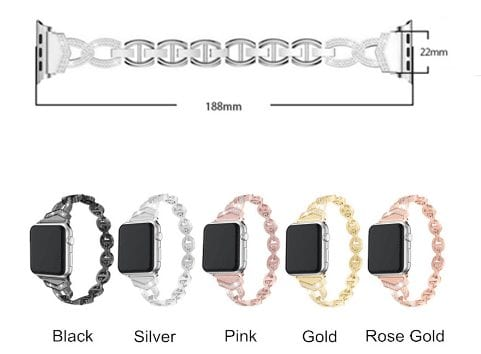 5 1 Apple Watch: Diamond Watch Band for Apple Watch