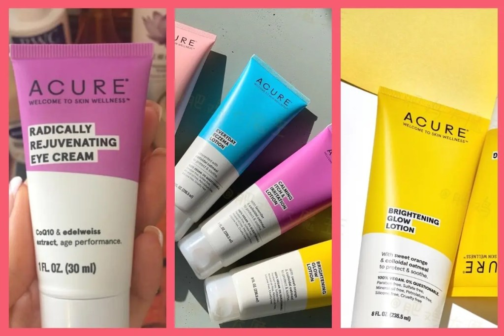 Best Acure Skincare Products