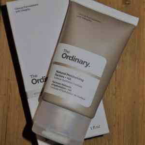 natural moisturizing + HA the ordinary