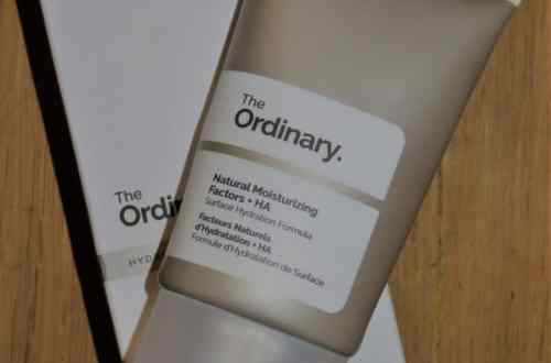 natural moisturizing + HA the ordinary