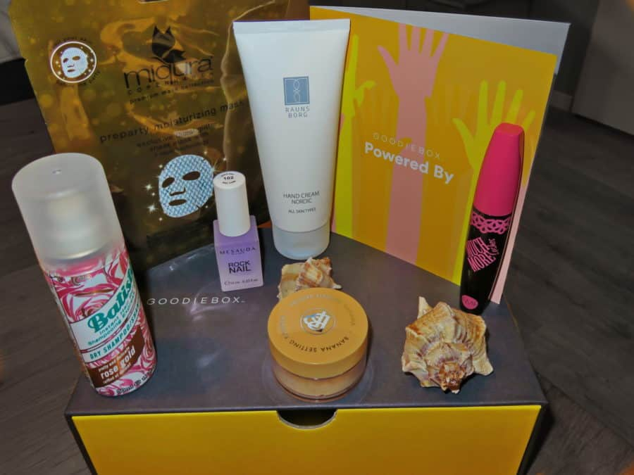 Goodiebox februari producten