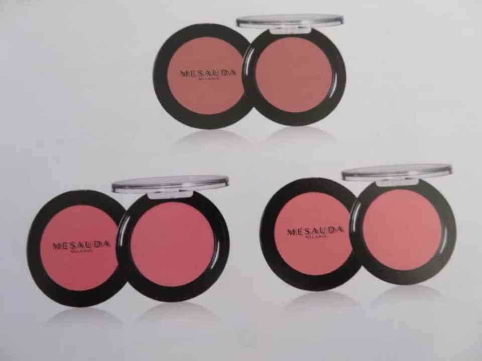 Blush kleuren die ook beschikbaar zijn van Mesauda Milano