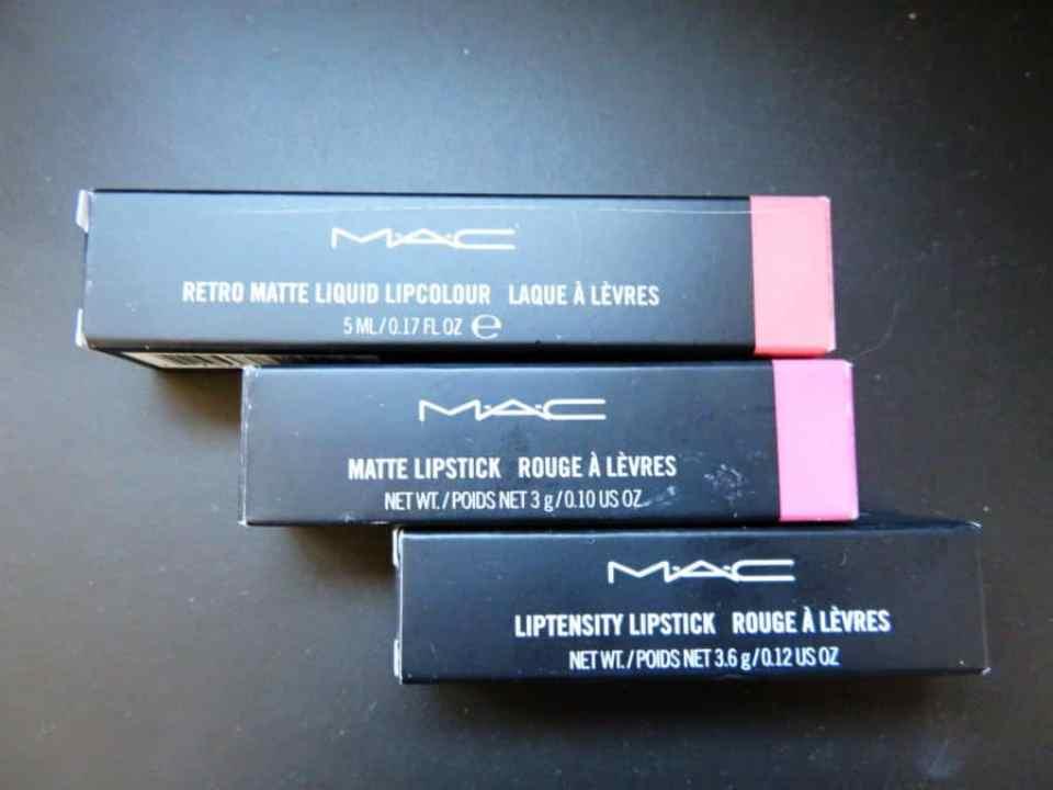 MAC lipsticks van Zalando lounge voor APril Shoplog