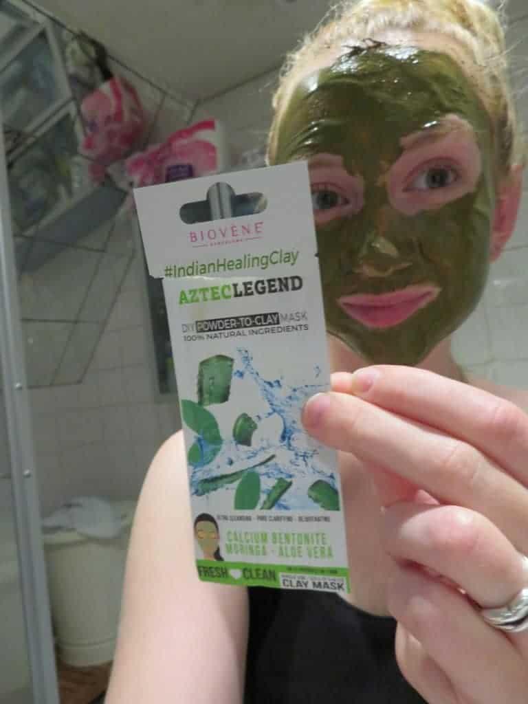 Biovene masker aztec legend. DIY powder-to-clay masker.  100% natuurlijke ingrediënten