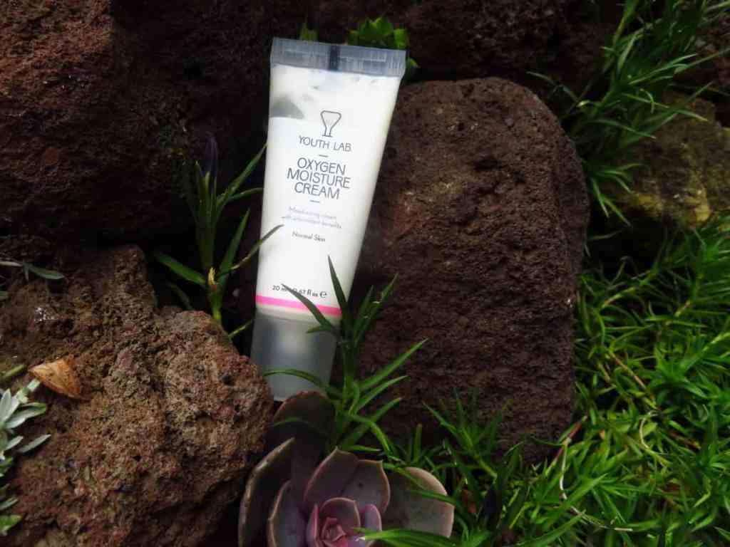 Youth lab, oxygen moisture cream. Een ideale dagcrème voor de normale huid die de huid hydrateert, beschermt tegen radicalen en zeer veel actieve ingrediënten bevat zoals vitamine B5 en vitamine E.