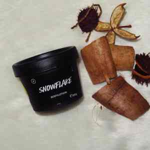 Lush bodylotion snowflake