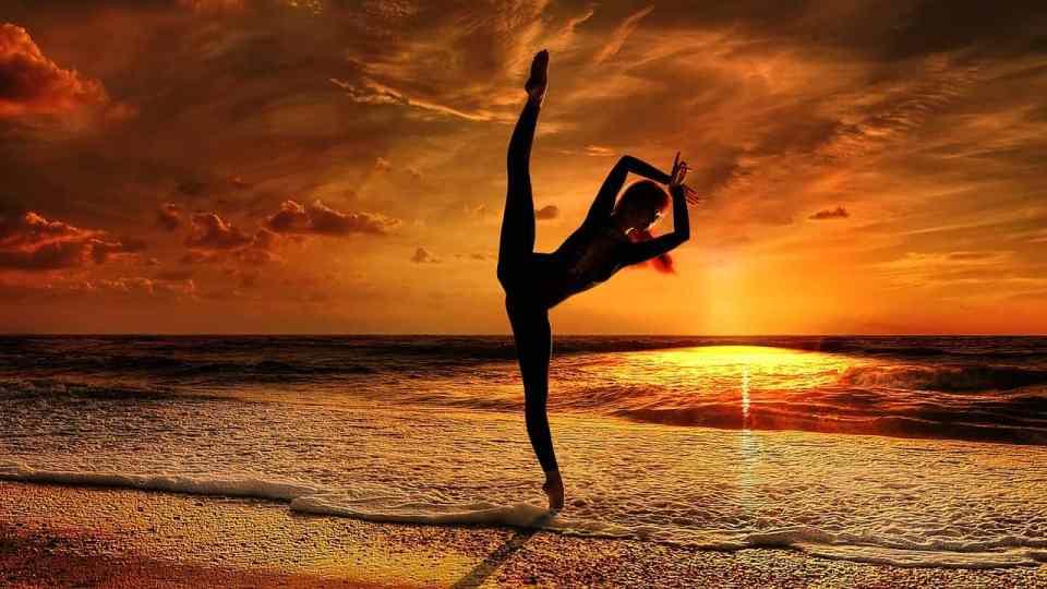 yoga balans houding