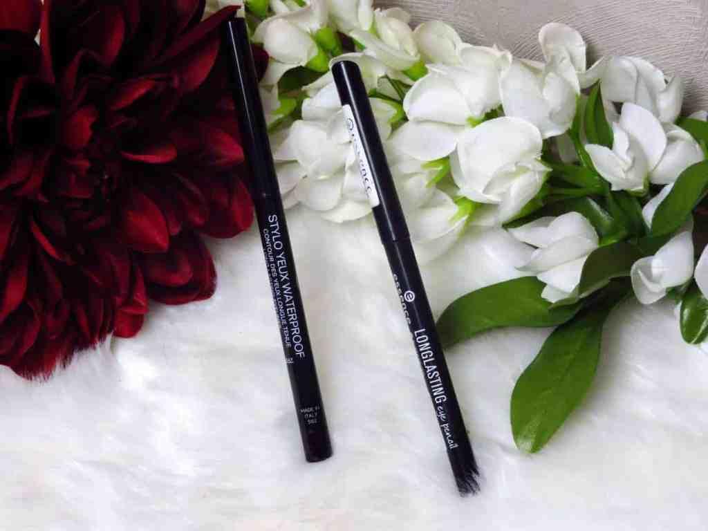 Chanel stylo yeux waterproof VS Essence long lasting eye pencil
