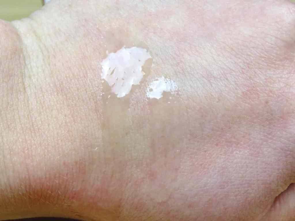 swatch the ordinary lactic acid peeling