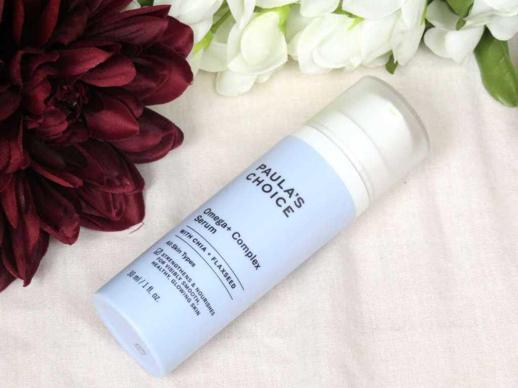 Paula's choice omega+ complex serum, hydraterend, verzachtend, glowy skin, stralende huid, huidveroudering, droge huid, huidverzorging, skincare, dry skin