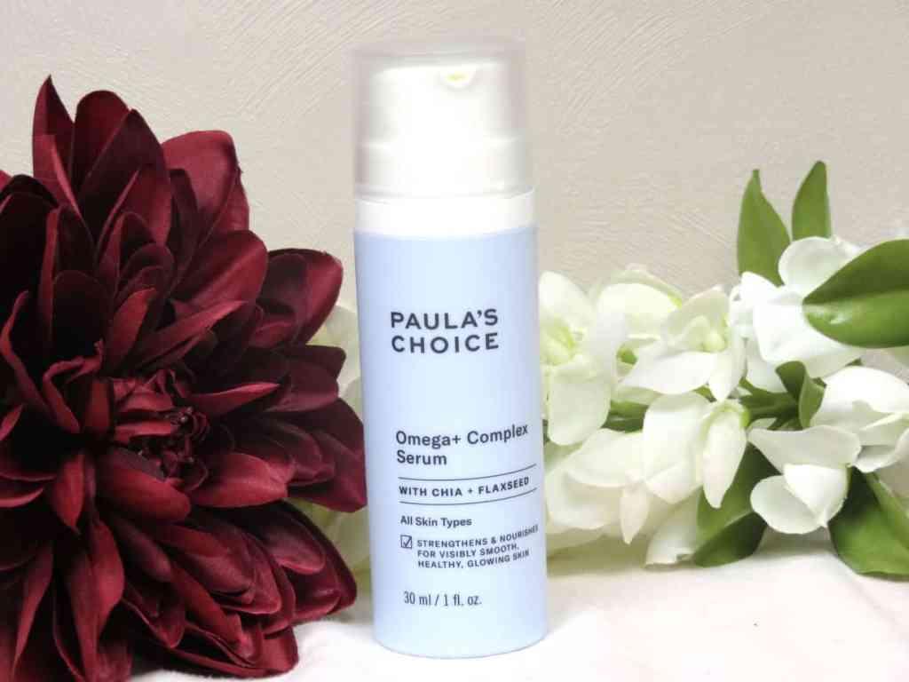 paula's choice omega+ complex serum, huidveroudering, alle huidtypes, extreem droge huid, droge huid, dry skin, sensitive skin, gevoelige huid, huidverzorging, skincare, egaliserend, verzachtend, maakt de huid soepel, glowy skin, stralende huid