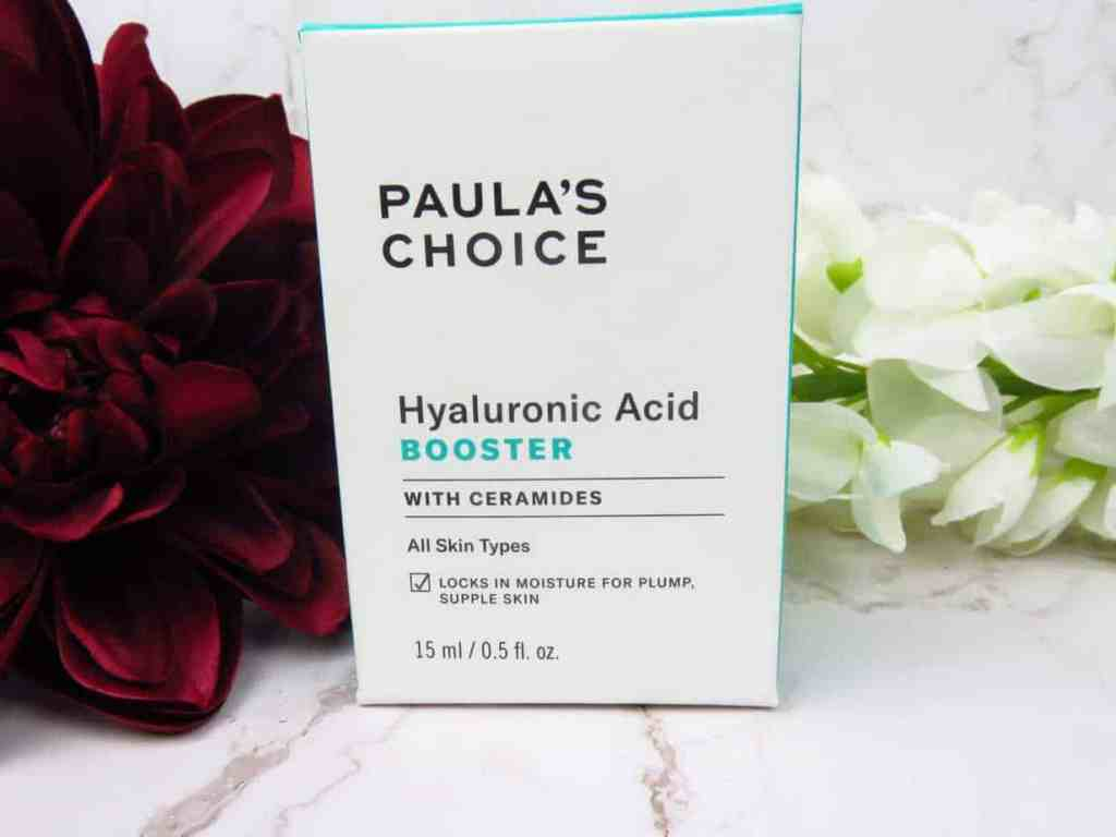 Paula's Choice hyaluronic acid booster, hyaluronzuur, huidverzorging, droge huid, hydrateren, hydratatie