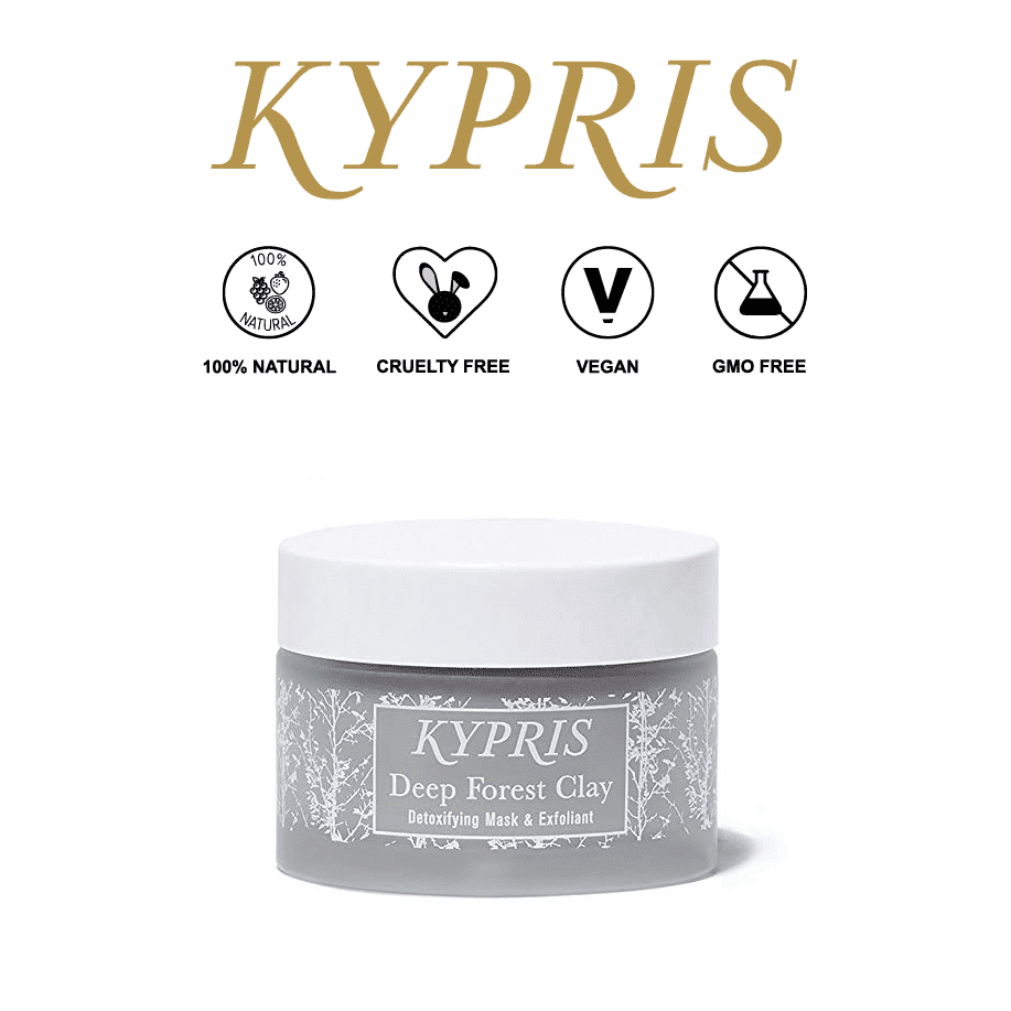 *KYPRIS – DEEP FOREST CLAY EXFOLIATING MASK   $105  