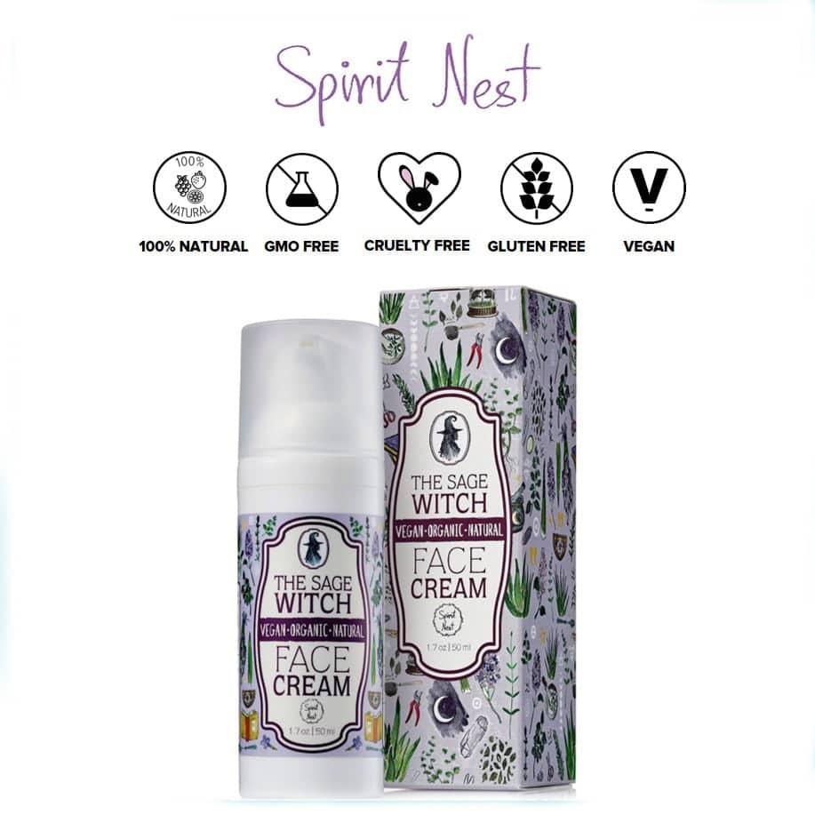 *SPIRIT NEST – THE SAGE WITCH ORGANIC MOISTURIZER   $19.95  