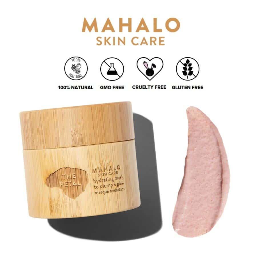 *MAHALO – THE PETAL HYDRATING ORGANIC MASK | $95 |