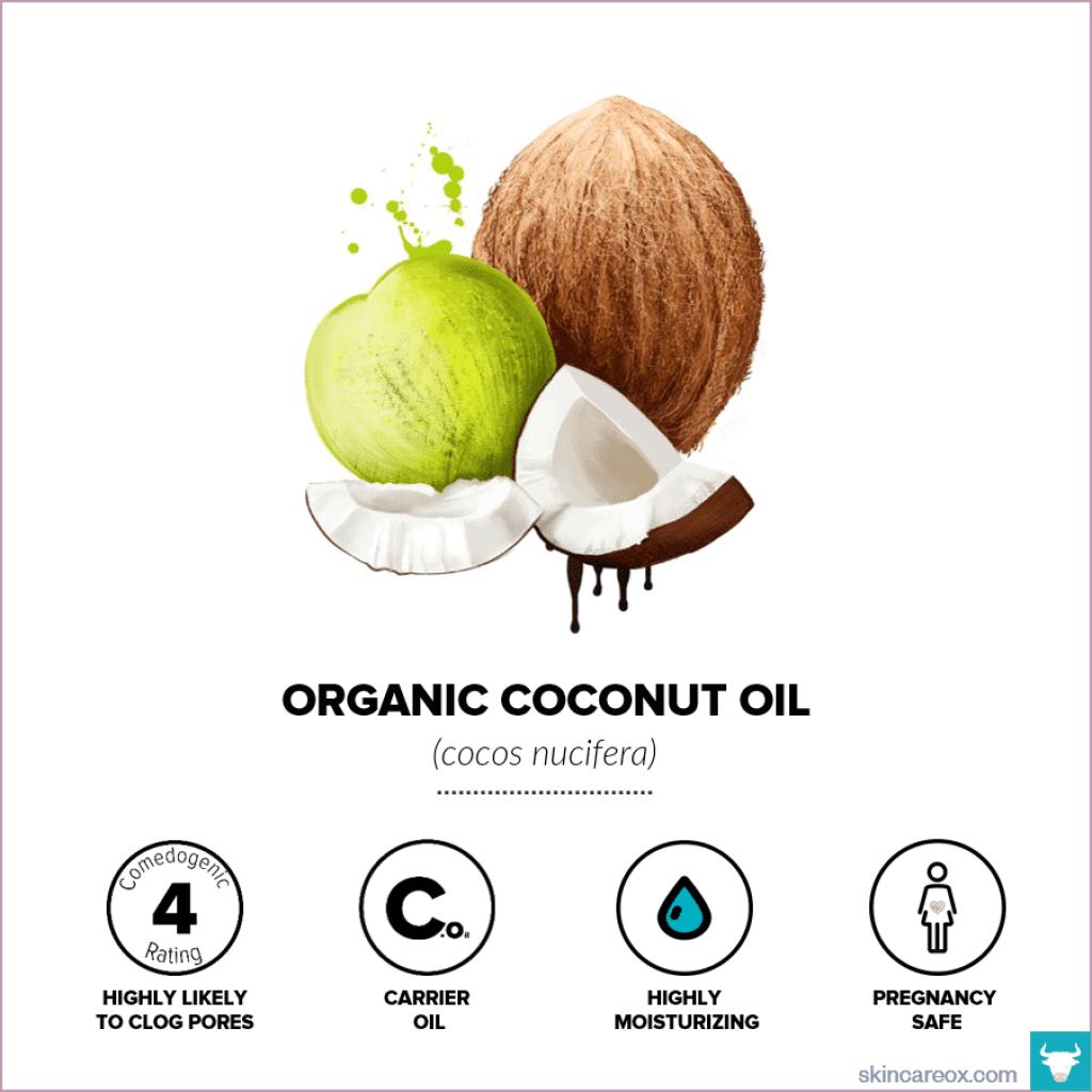 Organic Coconut Oil for Skin Care - Skin Care Ox