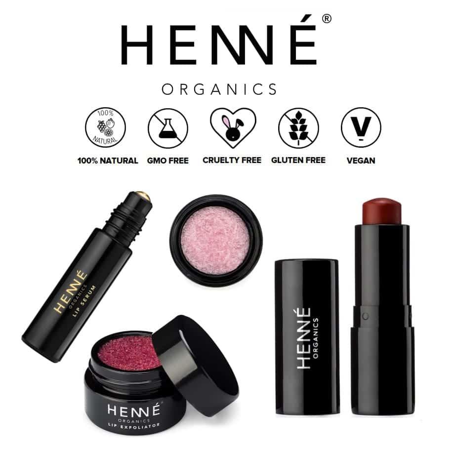 *HENNE ORGANICS – LUXURY ORGANIC LIP TREATMENTS | $$$ |